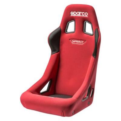 SPARCO Кресло/сиденье для автоспорта SPRINT, FIA 8855-1999, трубчатый каркас, красный