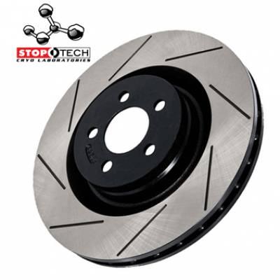 StopTech  Передние тормозные диски с насечками для Audi A4/A5/A6/A7/Q5 (320mm)