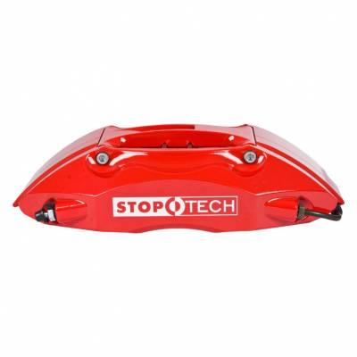 STOPTECH 172.434.7H73-372.434.7173 Суппорт тормоза левый ST-40 caliper, 36-42 pistons, red, 32 mm