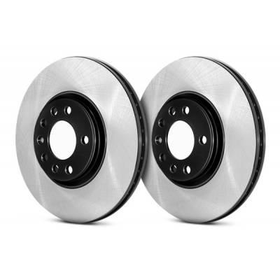 STOPTECH передние тормозные диски для VW Golf 5-7 GTI/ Passat (B6/CC)/ Tiguan/ Skoda Octavia RS/ Audi A3/Q3/TT (312X25mm)