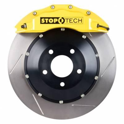 StopTech передняя 6-поршневая тормозная система BBK для TOYOTA Land Cruiser 200/Lexus LX570/LX450d (380mm) (желтая)
