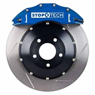 StopTech передняя 6-поршневая тормозная система BBK для TOYOTA Land Cruiser 200/Lexus LX570/LX450d (380mm) (синяя)