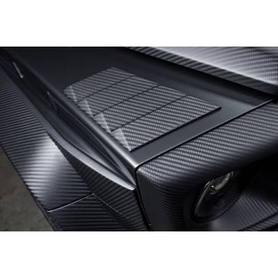 Карбоновые жабры вместо поворотников Brabus-style для Mercedes G63 AMG (w463)