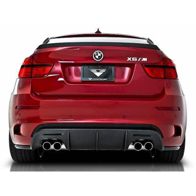 VORSTEINER Задний пластиковый диффузор (реплика) для BMW E71 X6M