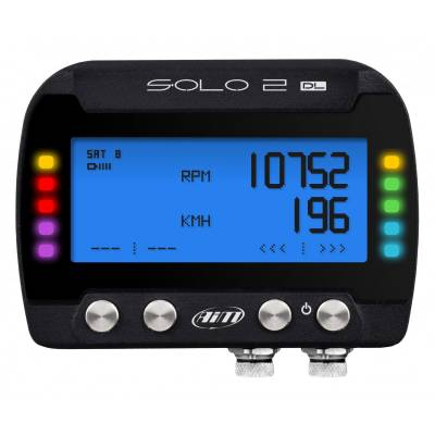 AIM SOLO 2 DL Лаптаймер c GPS (ECU с интерфейсом OBD2)