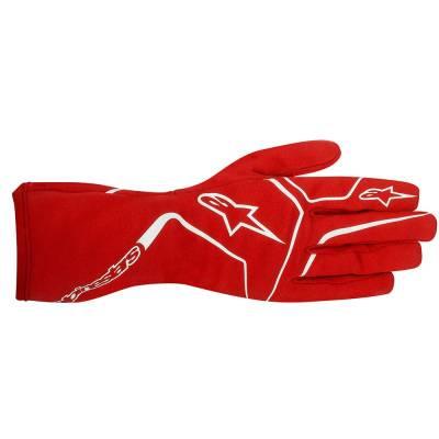 355198_30_S ALPINESTARS Перчатки TECH 1-KM  красные, р-р S, картинг