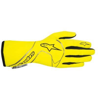 ALPINESTARS 3551013_551_XXL Перчатки (FIA) TECH 1 RACE, флюор.желтый/черный, р-р XXL