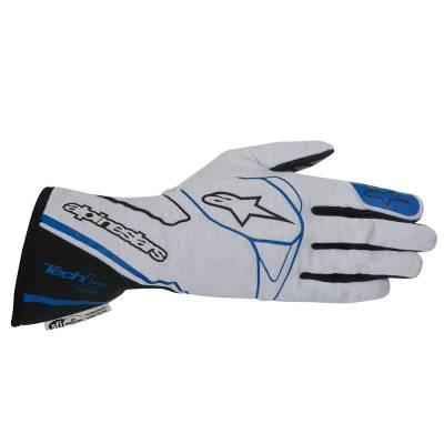 ALPINESTARS 3550014_197_XL Перчатки (FIA) TECH 1-Z, серебро/синий, р-р XL