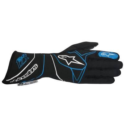 ALPINESTARS 3550116_17_S Перчатки (FIA) TECH-ZX, черный/синий, р-р S