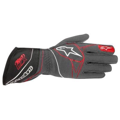 ALPINESTARS 3550116_1431_S Перчатки (FIA) TECH-ZX, тем.серый/черный/красный, р-р S