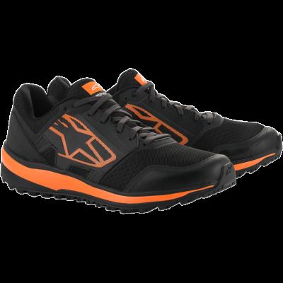 ALPINESTARS 2654820_14_7.5 Ботинки повседневные META TRAIL RUNNING. чёрный/оранжевый. р-р 40 (7.5)
