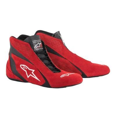 ALPINESTARS 2710515_31_14 Ботинки/обувь для автоспорта (FIA) SP, красный/черный, р-р 48 (14)