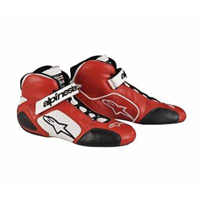 ALPINESTARS 271000_32_8 Ботинки/обувь (FIA) TECH 1-T, красный/белый, р-р 40,5 (8)