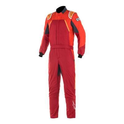 ALPINESTARS 3352019_3134_54 Комбинезон для автоспорта GP PRO COMP, FIA, красный,оранжевый, р-р 54