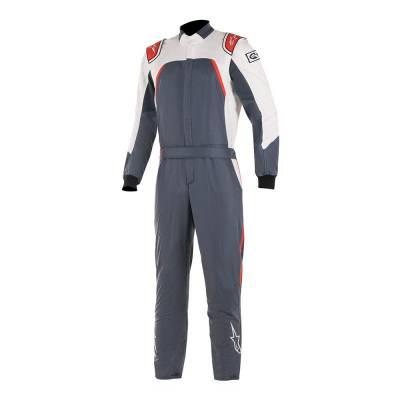 ALPINESTARS 3352019_9123_54 Комбинезон для автоспорта GP PRO COMP, FIA, серый,белый,красный, р-р 54
