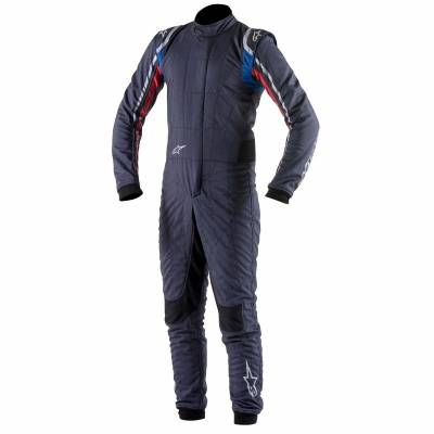 ALPINESTARS 3350015_718_54 SUPERTECH Комбинезон для автоспорта, FIA, темно-синий, р-р 54