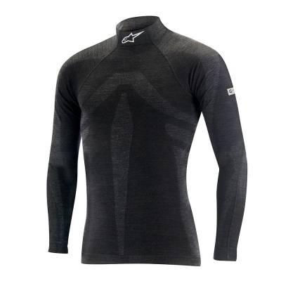 ALPINESTARS 4755016_106_XS/S Майка/футболка (FIA) ZX EVO TOP, черный/серый, р-р XS/S
