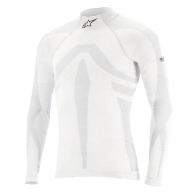 ALPINESTARS 4755016_201_M/L Майка/футболка (FIA) ZX EVO TOP, белый/серый, р-р M/L