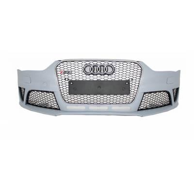 Передний бампер RS4 style для Audi A4 (рестайлинг)