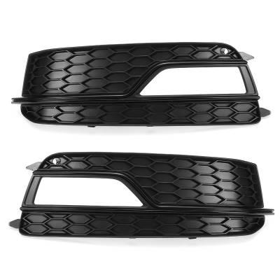 Черные решетки противотуманок RS5-style для Audi A5 (B8.5) (12+)