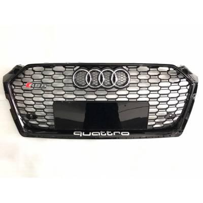 Черная решетка радиатора RS5-style для Audi A5 (B9)