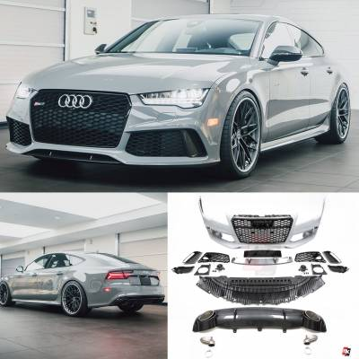Аэродинамический обвес RS7 style для Audi A7