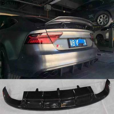 Задний карбоновый диффузор для Audi RS7/S7/A7 (c7)