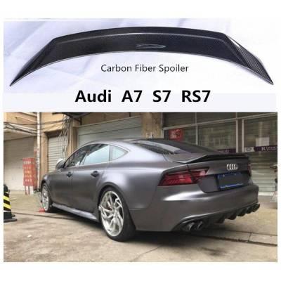 Карбоновый спойлер для Audi RS7/S7/A7 (c7)