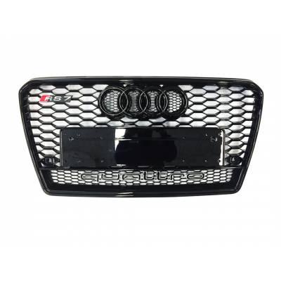 Черная решетка радиатора RS7-style (quattro)