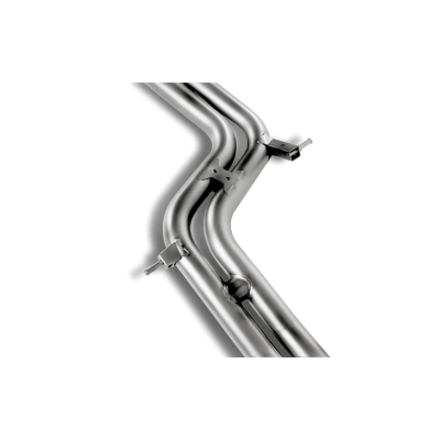 AKRAPOVIC Выхлопная система (средняя часть) Slip-On для Audi S5