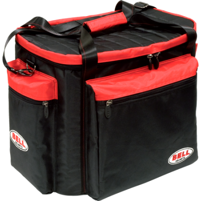BELL 2120003 (63515000) Сумка для шлема и экипировки HELMET & GEAR, черный/красный