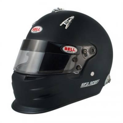 BELL 1417033 Шлем для автоспорта закрытый GP3 SPORT, HANS, FIA8859, чёрный, LRG  - 60-61 -