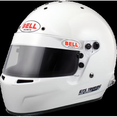 BELL 1315022 Шлем для автоспорта закрытый GT5 TOURING, HANS, FIA8859, белый, MED  - 58-59 -
