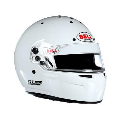BELL 1311005 Шлем для картинга KC7-CMR (CIK, CMR2016), белый, р-р 56 , закрытый