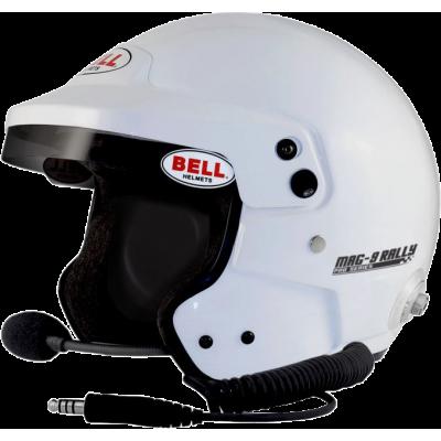 BELL 1316034 Шлем для автоспорта открытый, MAG-9 RALLY HCB, HANS, FIA8859, р-р XLG (61-61+)XLG (61-6