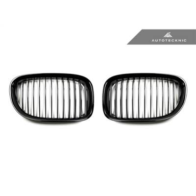 AutoTecknic  решетка радиатора для BMW F01/F02  7-series  (Черная глянцевая/Shadow line)