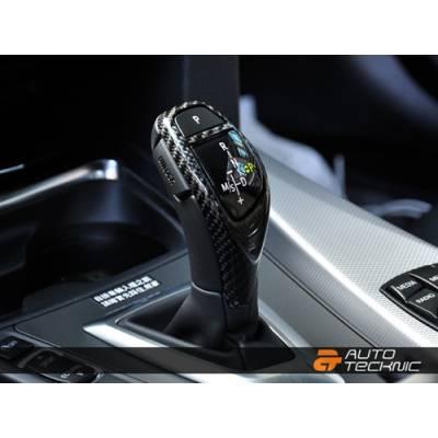 AutoTecknic  карбоновая Накладка рычага спорт АКПП для BMW F-series