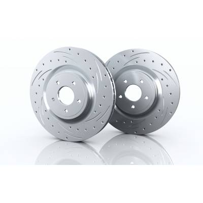 BRANNOR Задние тормозные диски для Audi A4/A5/A6/A7/Q5 (300x12mm)
