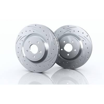 BRANNOR Задние тормозные диски Street Performance VAG (286x12мм), BR3.1193