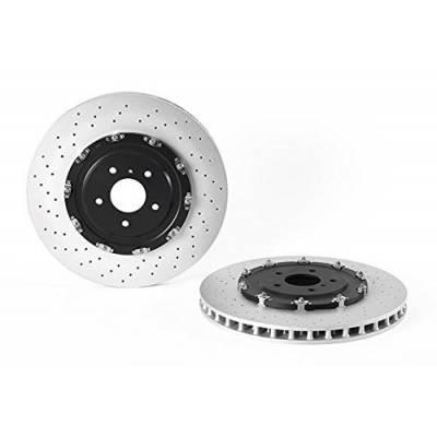 Brembo передние тормозные диски для NISSAN GTR R35 (390mm) (2011+)