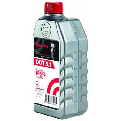 Brembo Тормозная жидкость DOT 5.1 BF (0.5L)  (260°C)