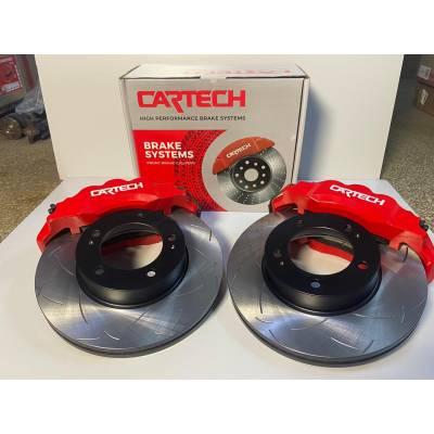 Cartech v2 тормозная система (перед+зад) для Toyota Land Cruiser 200/Lexus LX570/LX450d