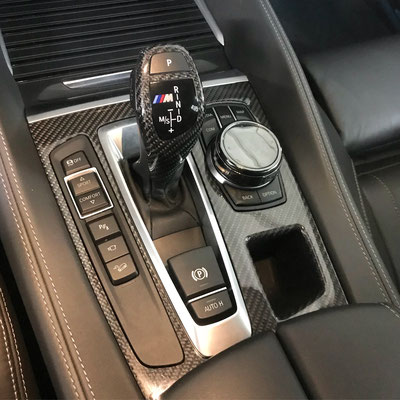 карбоновая панель АКПП для BMW X5M/X6M/X5/X6 (F15/F16/F85/F86)