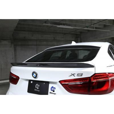 3D Design-style карбоновый спойлер для BMW X6/X6M (F16/F86)