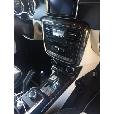 Карбоновые вставки в салон для Mercedes G63 (W463)