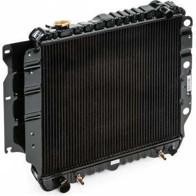 CSF 2578 Радиатор Jepp Wrangler (3 ROW copper core) 87-04
