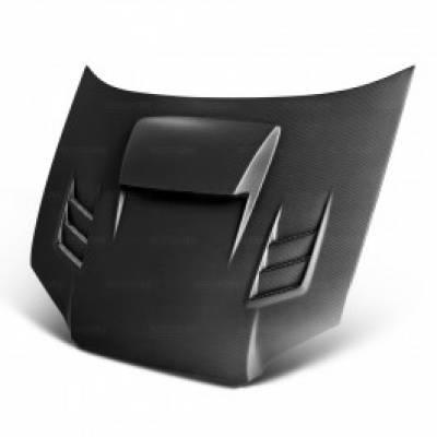 SEIBON Капот карбоновый CWII-Dry-style для SUBARU IMPREZA 2003-2005 (сухой карбон)
