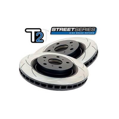 DBA T2 Slot Передние тормозные диски для VW GOLF GTI V / VI , AUDI A3, SKODA OCTAVIA RS  (312mm)