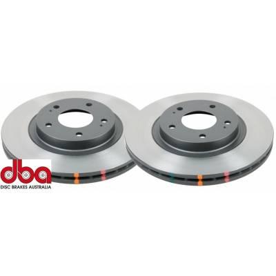 DBA задние тормозные диски для Toyota Land Cruiser 200/ Lexus LX570 (345х18mm)