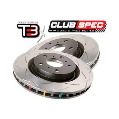 DBA T3-series   задние тормозные диски AUDI Q7 / Porsche Cayenne/ VW Touareg  (330мм)